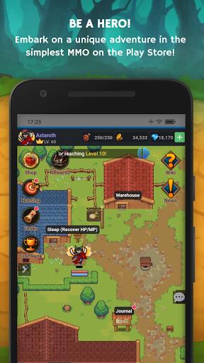 Mana Storia - Simple Browser MMORPG (Beta) 1.3 screenshots 1