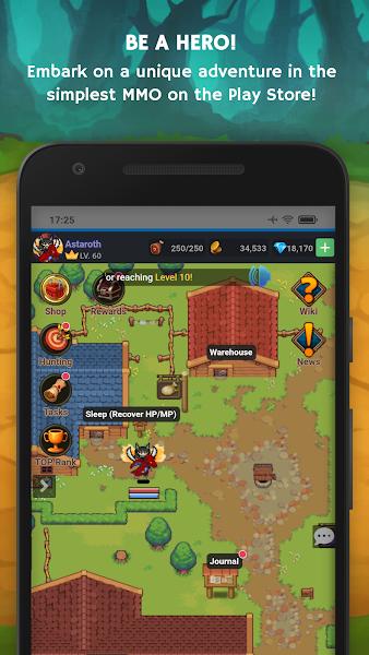 Mana Storia - Simple Online RPG (Beta)