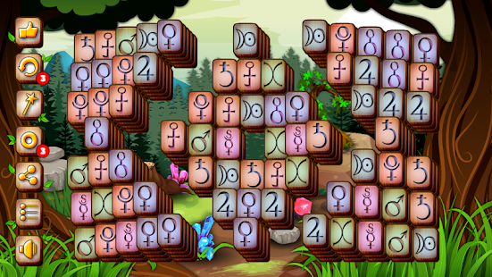 Enchanted Mahjong - Match Pairs Screenshot