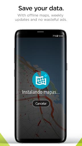 TomTom Navigation screen 2