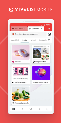 Vivaldi: Private Browser for Android apktram screenshots 1