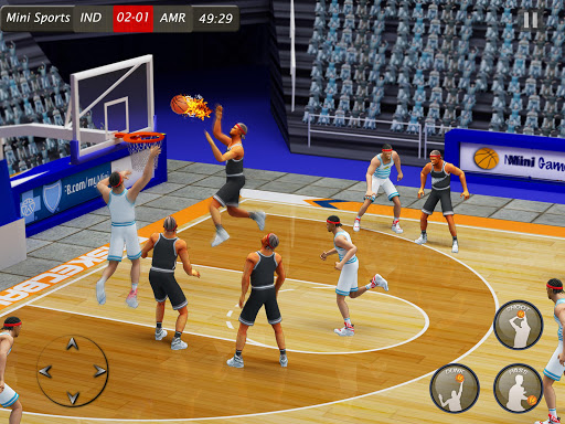 Basketball Hoops Stars: Basketball Games Offline android2mod screenshots 9