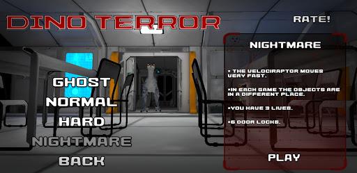 Dino Terror - Dinosaur Survival Jurassic Escape screenshots 1