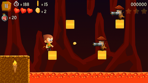 Télécharger Super Kong Jump - Monkey Bros & Banana Forest Tale apk mod screenshots 3