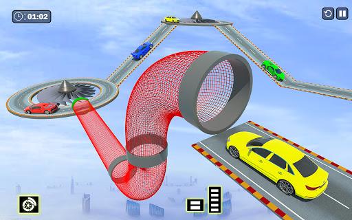 Crazy Ramp Car Stunts :Mega Ramp Stunt Games 1.6 screenshots 6