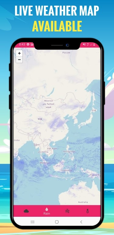Basic Weather App - weather widget and forecast  poster 3
