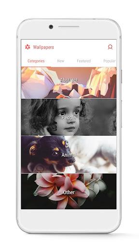 GO Launcher - 3D parallax Themes & HD Wallpapers 3.29 Screenshots 8