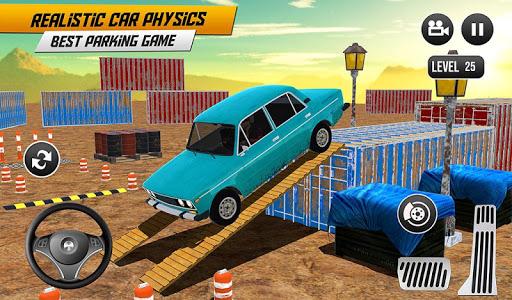 Prado Car Parking Game: Extreme Tracks Driving 3D  screenshots 8
