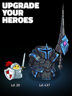 Hopeless Heroes: Tap Attack Screenshot