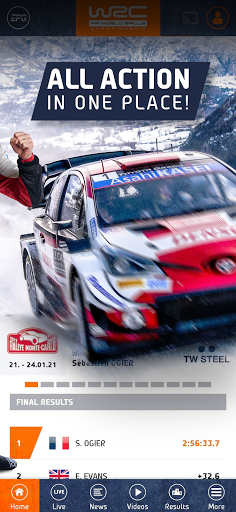 WRC u2013 The Official App apktram screenshots 2