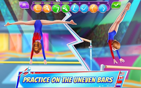 Gymnastics Superstar - Spin your way to gold! Screenshot