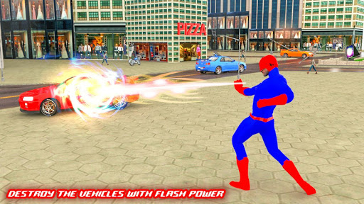 Light Speed hero: Crime Simulator: superhero games 3.4 Screenshots 6