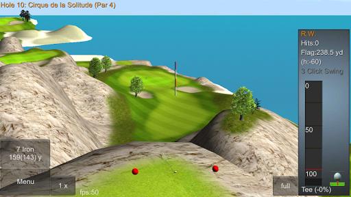 iron 7 one golf game lite screenshot 2