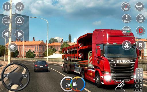 Indian Mountain Heavy Cargo Truck : Euro Truck Sim android2mod screenshots 1