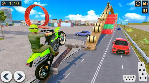 Bike Stunts Race 2021: Free Moto Bike Racing Games apkdebit screenshots 15