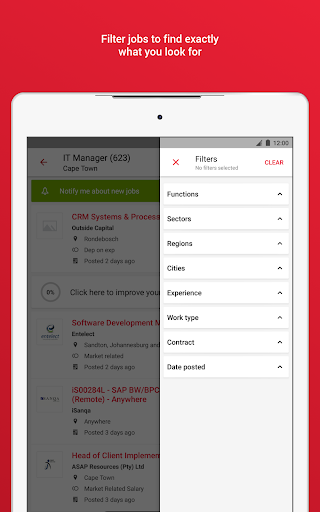 Pnet - Job Search App in South Africa modavailable screenshots 10