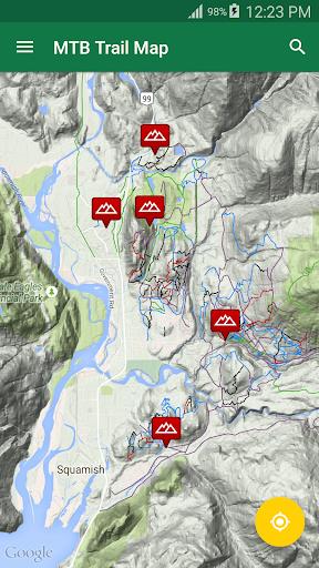 mtb trail map screenshot 1