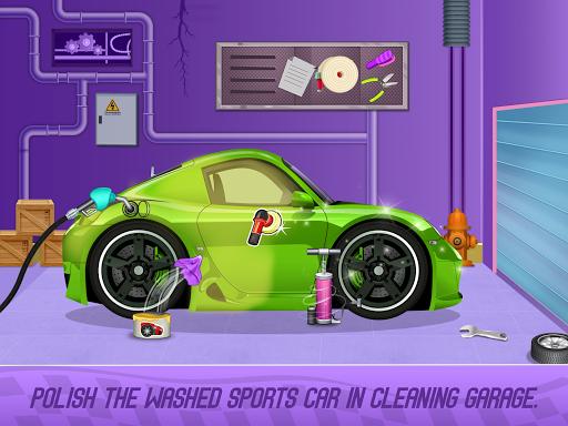 Kids Sports Car Wash Cleaning Garage 1.16 screenshots 4