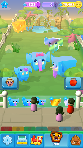 Spin a Zoo - Tap, Click, Idle Animal Rescue Game!  screenshots 6