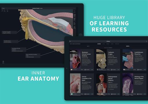 Complete Anatomy u201821 - 3D Human Body Atlas 6.4.0 Screenshots 16
