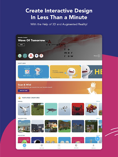 Assemblr - Make 3D, Images & Text, Show in AR! 3.394 Screenshots 17
