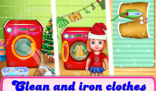 Christmas House Cleaning Game  screenshots 4