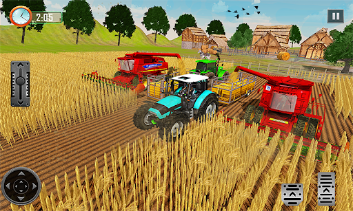 Farming Tractor Driver Simulator : Tractor Games android2mod screenshots 5