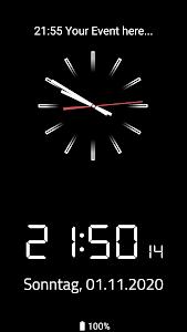 Analog & Digital Clock Screensaver 1.3.1