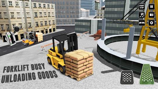 Kent İnşaat Simülatör: Forklift Kamyon Oyun Full Apk İndir 6