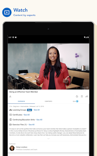 LinkedIn Learning: Online Courses to Learn Skills 0.163.25 Screenshots 10