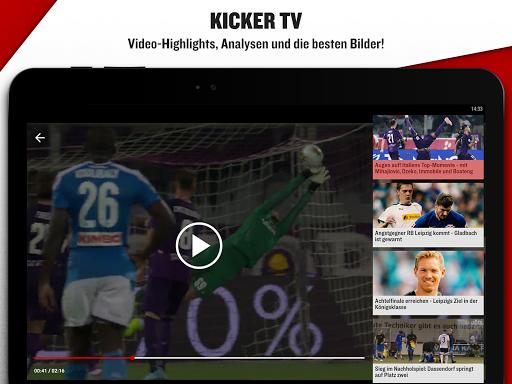 kicker Fußball News  screenshots 13