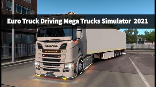 Euro Truck Driving Mega Trucks Simulator  2020 android2mod screenshots 3