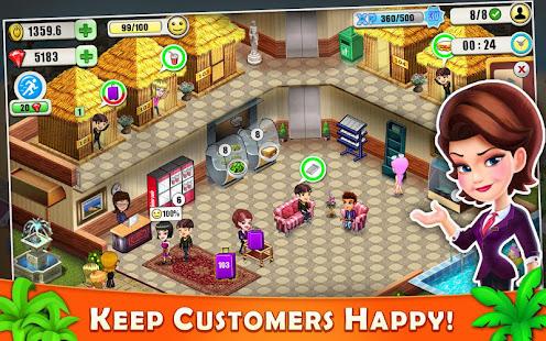 Resort Tycoon - Hotel Simulation 9.9 screenshots 2
