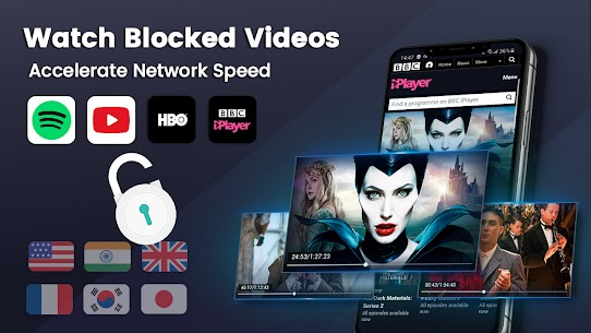 3X VPN – Free, Unlimited, Safe surf, Speed up apps 2