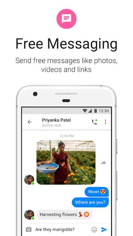 Messenger Lite: Free Calls & Messages  poster 0