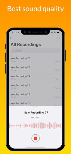 iVoice - iOS Voice Recorder, iPhone Voice Memos android2mod screenshots 6