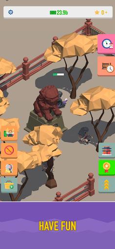 Idle Samurai 3d: Ninja Tycoon 1.0.3 screenshots 1