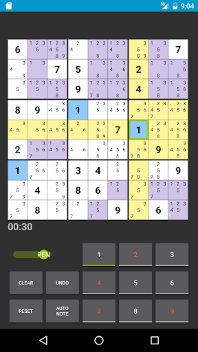 Sudoku 1.1.19b screenshots 9