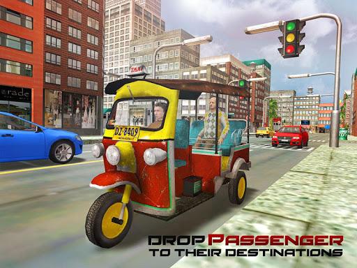 Tourist Transport Taxi: Tuk Tuk Driving Simulator  screenshots 11