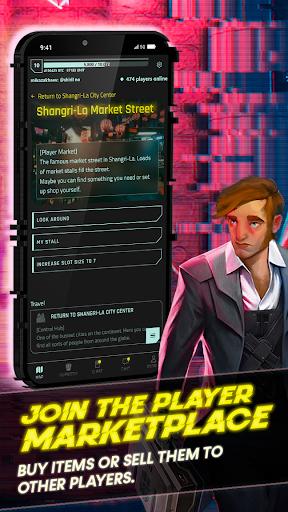 CyberCode Online | Cyberpunk Text Idle MMORPG 1.0 screenshots 5