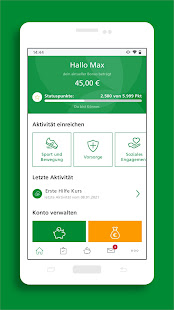 AOK Bonus-App 4.2.4 Screenshots 2