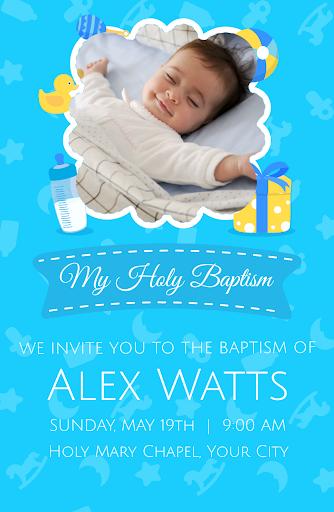 Baptism Cards android2mod screenshots 6