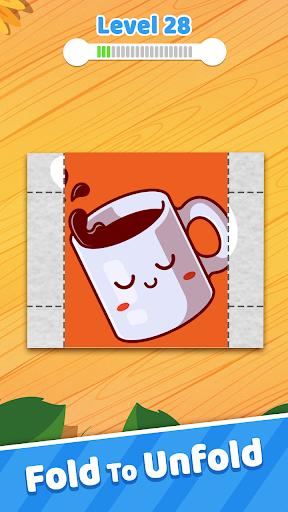 Paper Folding 3D - Puzzle Game 1.25 screenshots 1