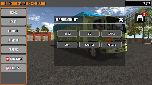 IDBS Indonesia Truck Simulator apkpoly screenshots 4