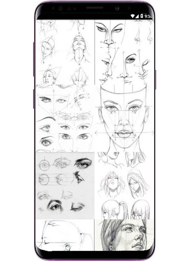 Face Drawing Step by Step  screenshots 2