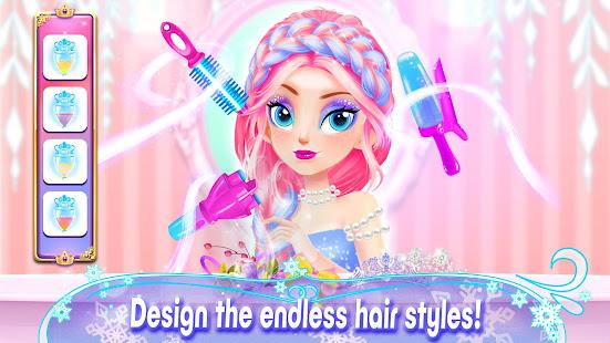 Girl Games: Princess Hair Salon Makeup Dress Up 1.9 Screenshots 7