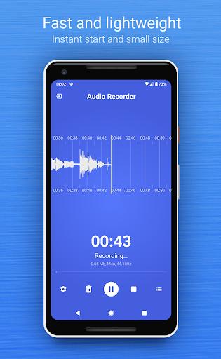 Audio Recorder (no ads) screenshots 1