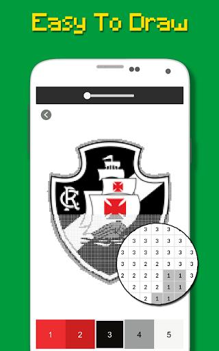 Logotipo Do Futebol Brasileiro Cor Por Nu00famero 9.0 screenshots 6