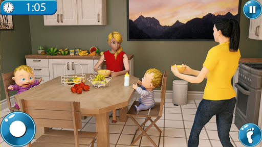 Real Mother Simulator 3D New Baby Simulator Games android2mod screenshots 1
