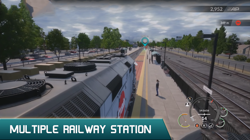 Us Train simulator 2020 1.4 screenshots 2